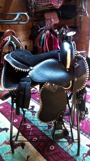 SSS003-A Non-Gaited Western Saddle Set In Stock