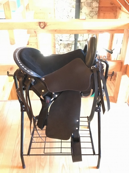 GAS014-A  In Stock Gaited Saddle